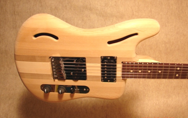 Guitar ready for evaluation 1
