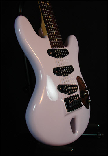 Arched Wave, AW-6, ergonomic guitar